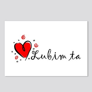 """""""I Love You"""" [Slovak] Postcards (Package of 8)"""